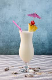 The classic tropical cocktail, the Pina Colada